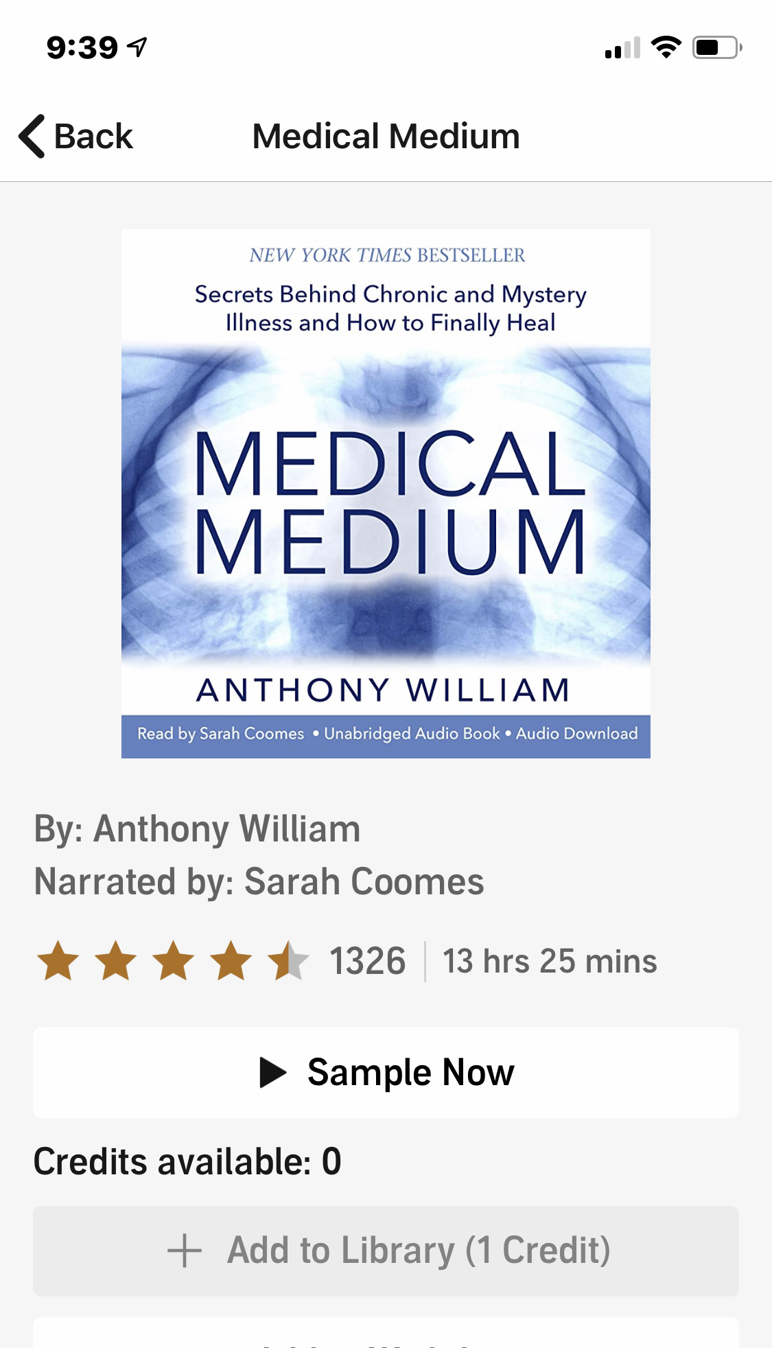 Audible Medical Medium